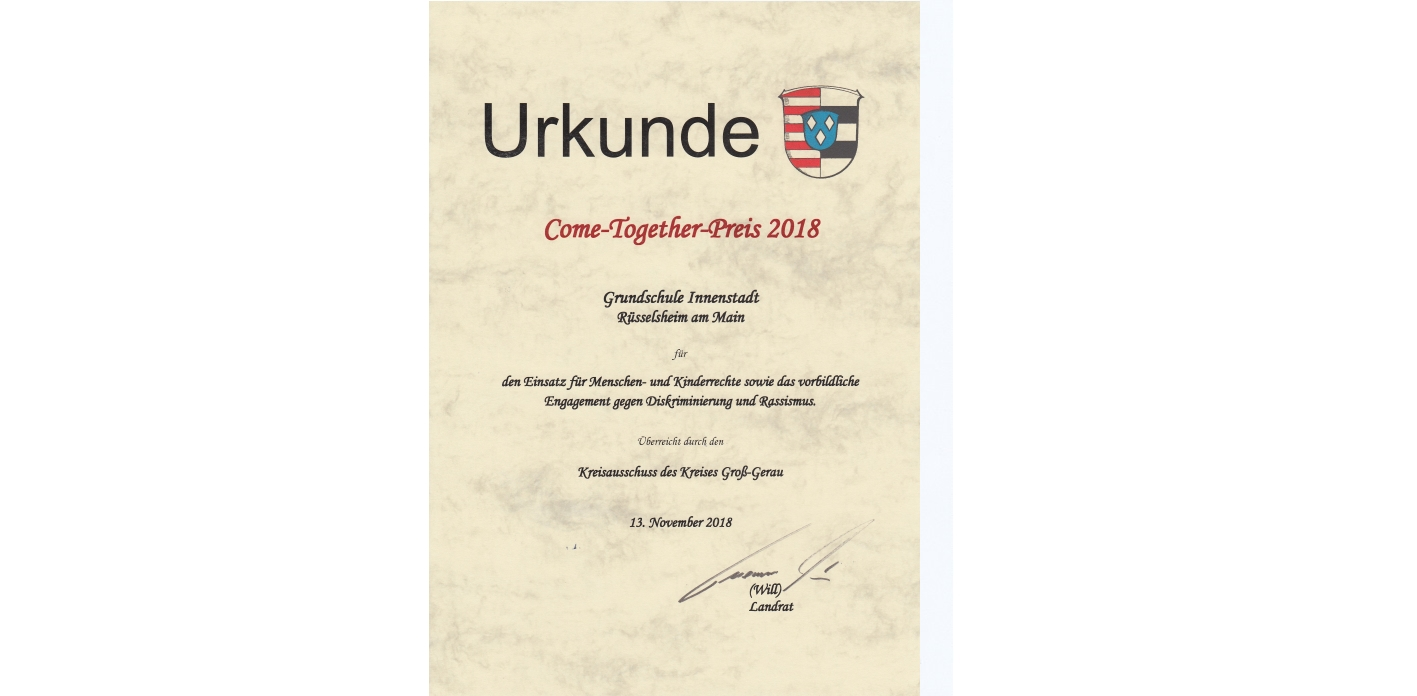 Come-Together-Preis 2018